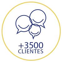 +3500 clientes
