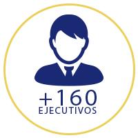 +160 ejecutivos