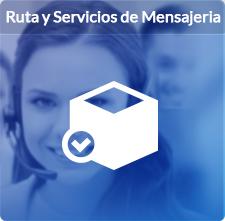 Ruta y Servicio de mensajería